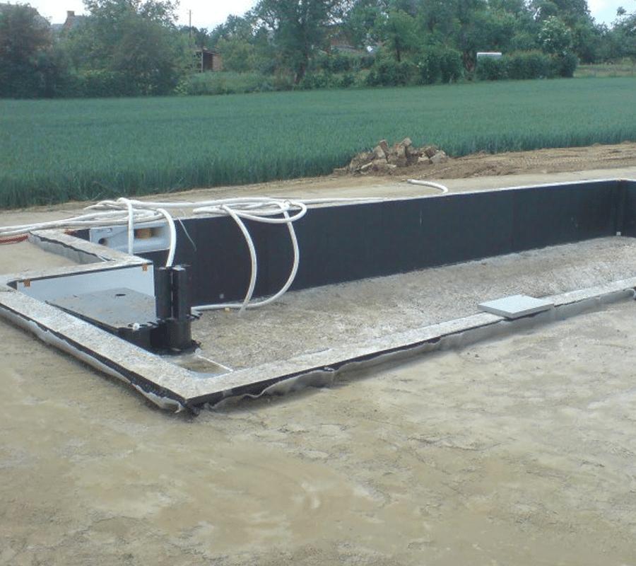 Evrard tp entreprise de travaux publics dans les provinces for Construction piscine hainaut